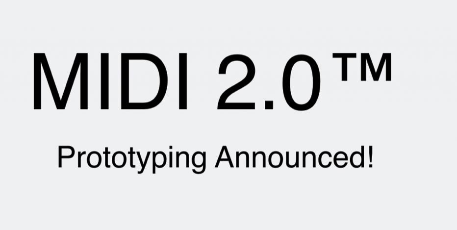 MMA Adopts MIDI 2.0.
