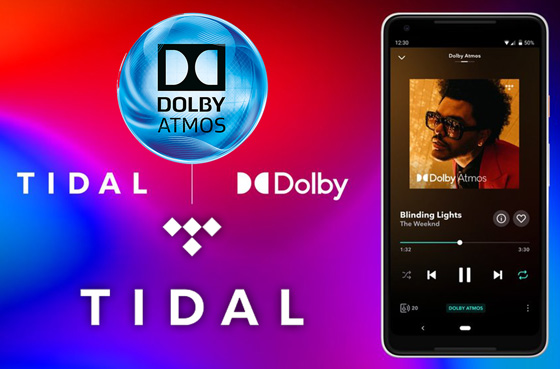 Tidal are making Dolby Atmos Music available
